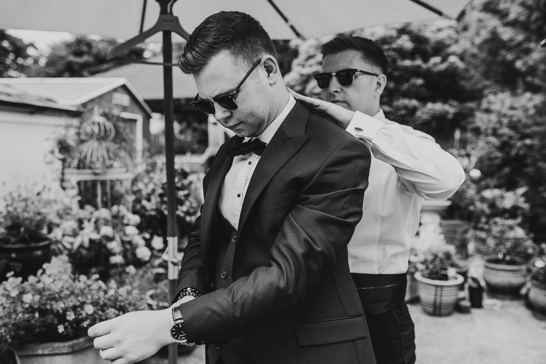 FUN RELAXED WEDDING DECOURCEYS CARDIFF 12