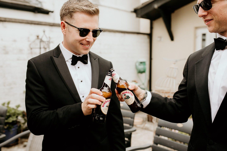 FUN RELAXED WEDDING DECOURCEYS CARDIFF 16