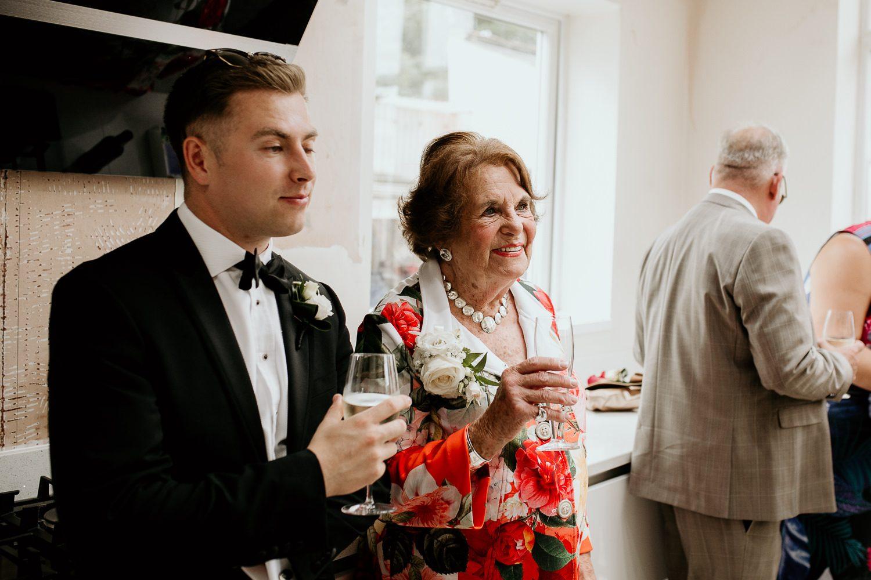 FUN RELAXED WEDDING DECOURCEYS CARDIFF 25