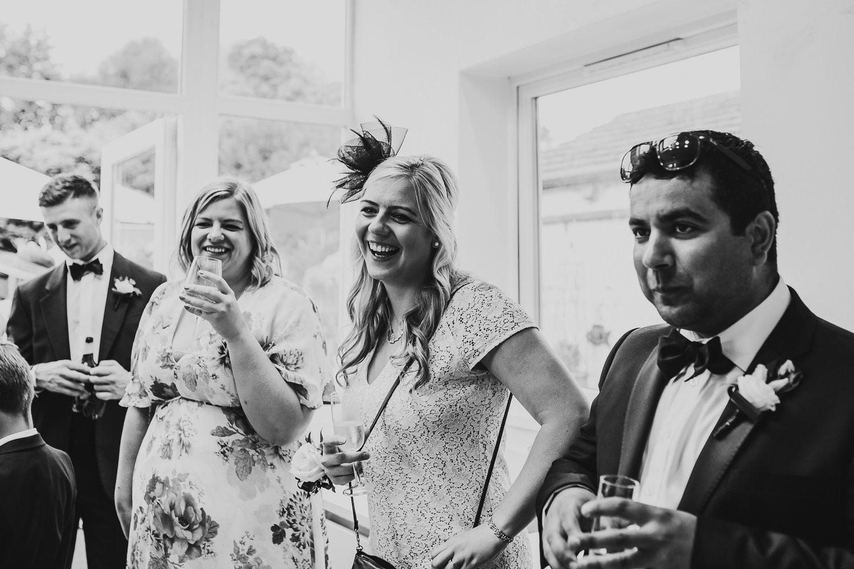 FUN RELAXED WEDDING DECOURCEYS CARDIFF 26