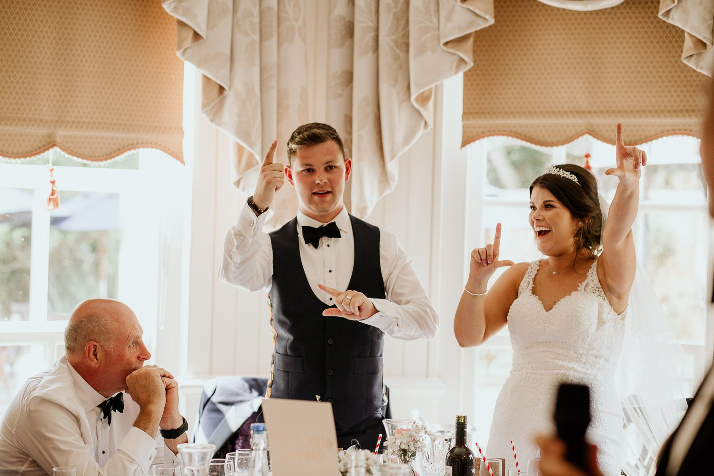 FUN RELAXED WEDDING DECOURCEYS CARDIFF 96