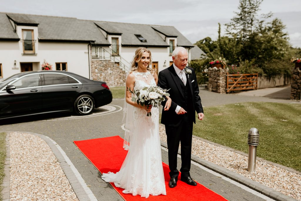 minimal FUN chic WEDDING oldwalls gower southwales 027 87