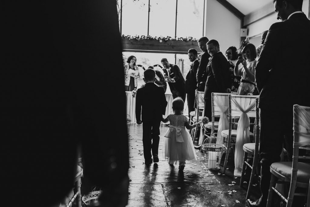 minimal FUN chic WEDDING oldwalls gower southwales 030 90