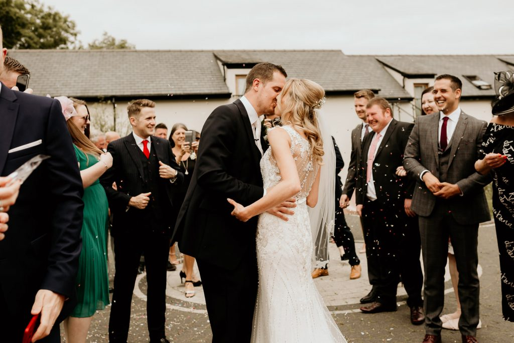 minimal FUN chic WEDDING oldwalls gower southwales 037 97