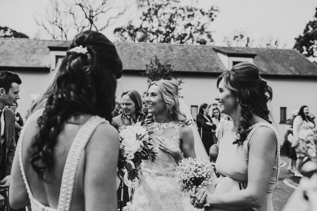 minimal FUN chic WEDDING oldwalls gower southwales 038 98