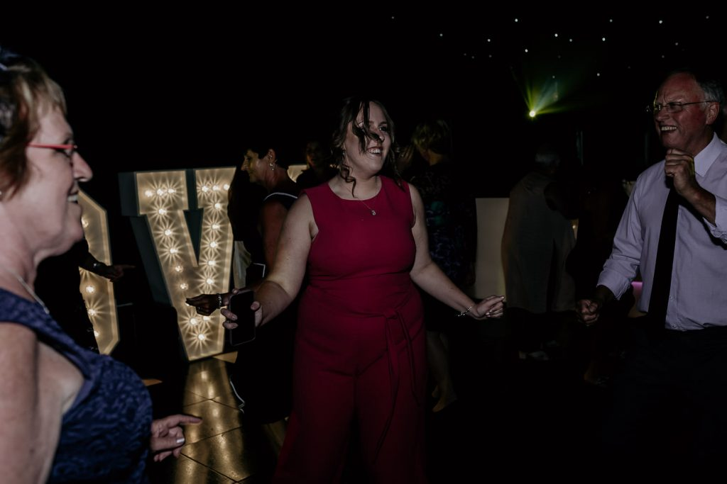 minimal FUN chic WEDDING oldwalls gower southwales 096 156