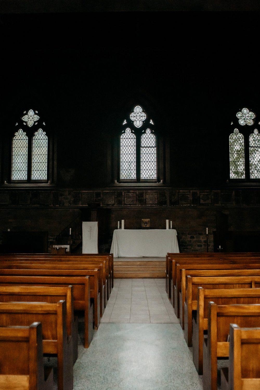 inside exterior of chapel at uppingham chapel